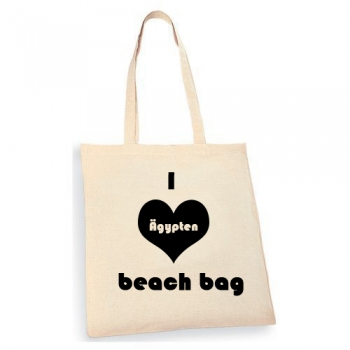 i Love Beach bag