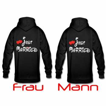 Just Married Pullover