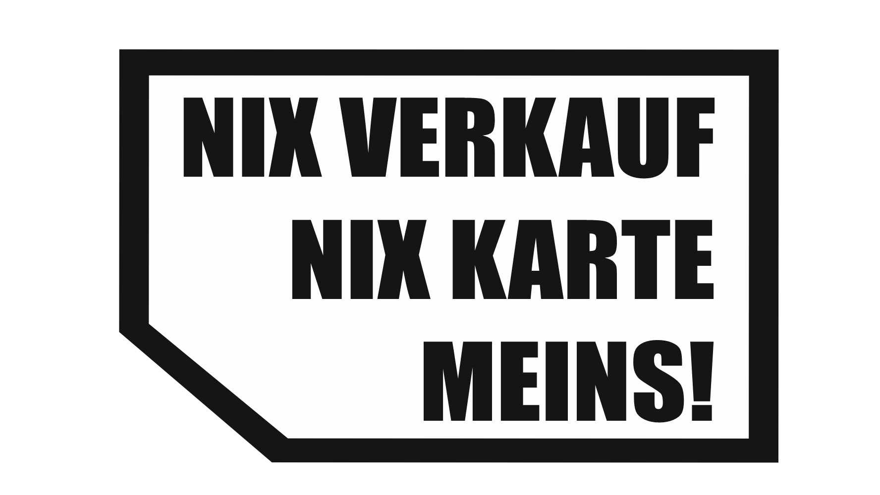 Theiss Druck - NIX VERKAUF NIX KARTE MEINS!
